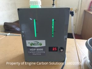 Second hand carbon cleaning machine